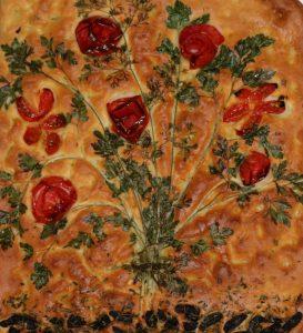 Vegan Italian Focaccia bread