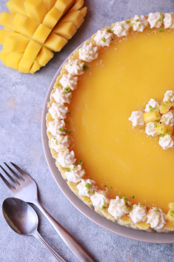 Lime and Mango Cheesecake Recipe